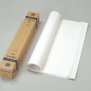 マス目入り 模造紙 セレクションペーパー 白 50枚巻 【 ロール紙 絵画 模造紙 紙 】|artloco