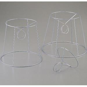 セード金具 ランプシェード用金具 丸型 6本骨【ランプシェード 工作 照明器具 ファイバーアート】|artloco