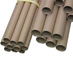 紙管 約30φ×500mm 10本組 【 工作 作品 紙筒 芯 厚紙 製作 】|artloco