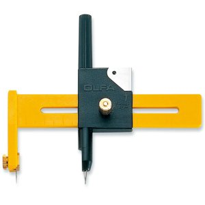 コンパスカッター  57B 替刃5枚付  サイズ:幅108×長さ93.5×厚さ19mm  直径10〜...