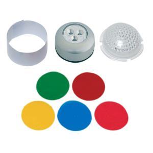 プッシュライト LED 光拡散型 【 工作 光源 ランプシェード LED 】