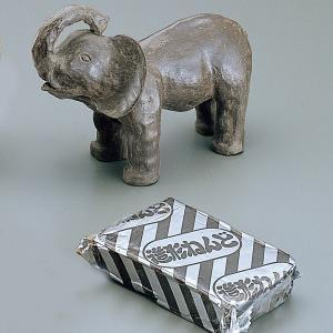 造形ねんど 1kg ブラック 【 粘土 造形 土粘土 】|artloco