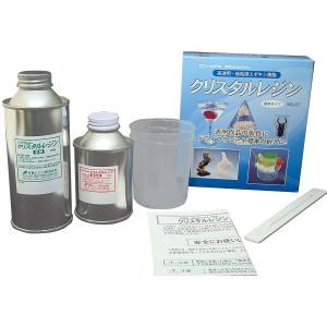 クリスタルレジン 封入用エポキシ樹脂 300gセット  主剤200g、硬化剤100g、ポリカップ1個...