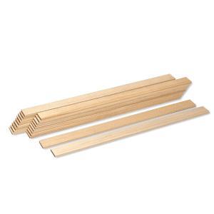 たたら板 20枚組 木製 5×30×約450mm 【 陶芸 たたら  】
