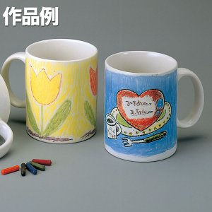 クレヨンカップ【熱湯絵付け 工作 オリジナル作品作りに】|artloco