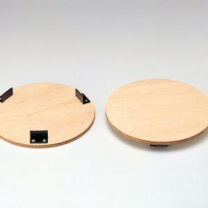 かめ板 300mmφターンテーブル用 360mmφ 単品 【 陶芸 ろくろ かめ板 】