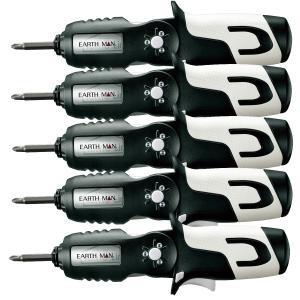 <お取り寄せ品>充電式 ミニドライバー DDR-37LiA H-Link3.7V 5台組 【 電動工具 セット ケース付  】|artloco
