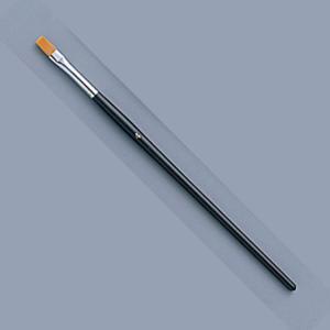 [ ゆうパケット可 ]  トールペイント筆 ナイロン毛 フラット No.4 【 木工 トールペイント 筆 】 artloco