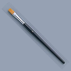 [ ゆうパケット可 ]  トールペイント筆 ナイロン毛 フラット No.8 【 木工 トールペイント 筆 】 artloco