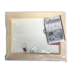 白木の木彫額 B4 【 工作 手作り 作品 飾り 絵画 写真 】|artloco