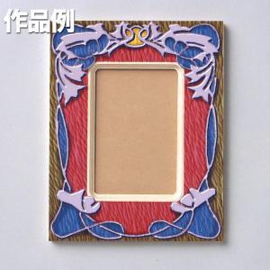 [ ゆうパケット可 ]  白木のはがき額 【 工作 手作り 作品 飾り ポストカード 】|artloco