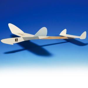 [ ゆうパケット可 ]  AOZORA ホワイトウイングス レーサー554 1機セット 接着剤使用組立てタイプ 【 工作 屋外 紙 飛行機 White wings Racer 554 男の子 】|artloco