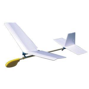 [ ゆうパケット可 ]  とばしてあそぼう手投げグライダー 角翼 【 工作 屋外 手作り 飛行機 作品 男の子 】|artloco
