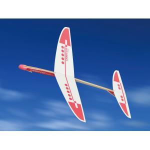 [ ゆうパケット可 ]  高性能紙飛行機 CANDY−LX2 Red Laser KDK203b1 【 工作 屋外 手作り 飛行機 作品 男の子 】|artloco