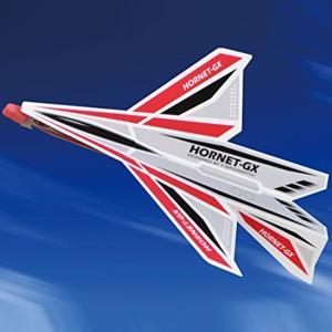 [ ゆうパケット可 ]  プレカット紙飛行機HORNET−GX Red 【 工作 屋外 手作り 飛行機 作品 男の子 】|artloco