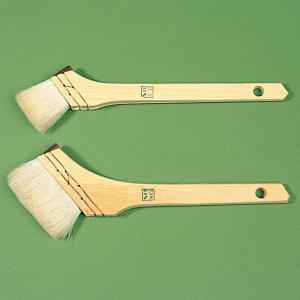 [ ゆうパケット可 ]  ニス刷毛 山羊毛 幅40mm 【 木工 塗料 刷毛 木彫 ブラシ 】|artloco