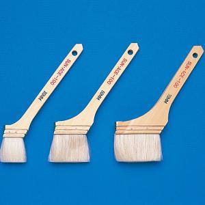 [ ゆうパケット可 ]  ペイント刷毛 ナイロン毛 幅40mm 【 木工 塗料 刷毛 木彫 ブラシ 】|artloco