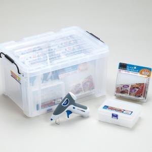 乾電池式グルーガン グループセットBG-6 【 、グルーガン ホットメルト 接着 手芸 】|artloco