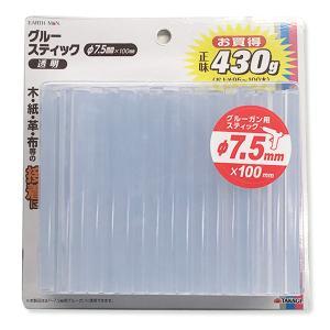 グルースティック φ7.5mm 430g(約100本入) 【 グルーガン ホットメルト 接着 手芸 】|artloco
