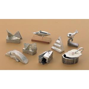 サンド鋳金メタルセット (ピューター・インゴット) 【 金属工芸 鋳金材料 錫 】|artloco