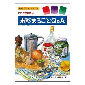 水彩まるごとQ&A 視覚デザイン研究所 内田広由紀著 B5判 【 書籍 本 】