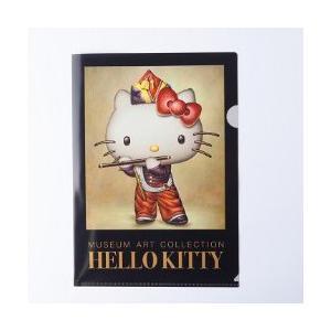 [ ゆうパケット可 ]  ハローキティ ミュージアムアートコレクション クリアファイルA4 マネ 笛を吹く少年 【 サンリオ キティちゃん 】|artloco
