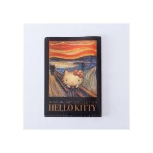 [ ゆうパケット可 ]  ハローキティ ミュージアムアートコレクション クリアファイルA5 ダブルポケット 叫び 【 サンリオ キティちゃん 】|artloco
