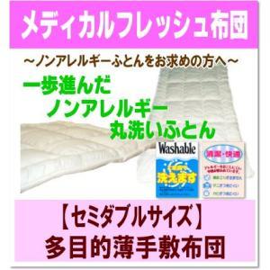 メディカルフレッシュ布団・多目的薄手敷布団<セミダブルサイズ> artmac