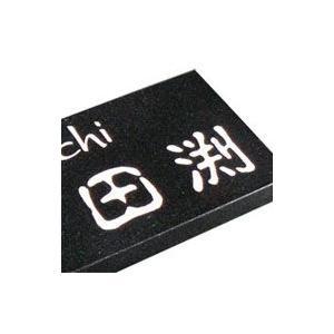 表札 黒御影石表札 戸建て デザイン表札 DM01-ml|artmark|03