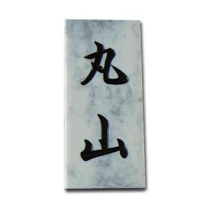 表札 激安表札 プラスチック表札 P105 (青雲) artmark