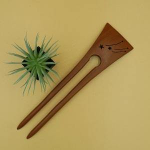 木製 かんざし チャクテビガ材 スター|artnob