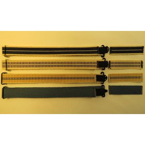 木製 蝶ネクタイ用 真田紐 木綿平織15mm巾 付け替え用単品セット |artnob