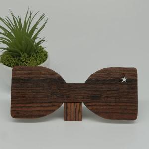 木製 チョウネクタイ スターシリーズ ボコーテ材 真田紐木綿平織15mm |artnob