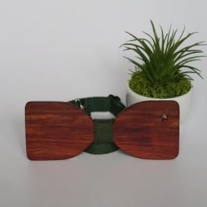 木製チョウネクタイ スターシリーズ Mサイズ サティーネ材|artnob