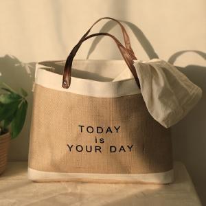 TODAY is YOUR DAY ジュートバッグ 【art of black】 artofblackshop