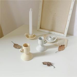 cup キャンドルスタンド 陶器【art of black】|artofblackshop