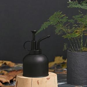 ステンレス スプレーボトル 300ml 霧吹き ブラック 【art of black】|artofblackshop