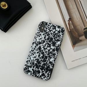 ネコポス送料無料 飛び散り柄 iPhoneケース TPU素材 【art of black】|artofblackshop