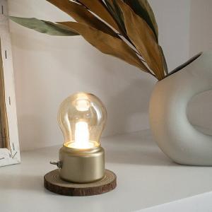 電球型 スイッチ式ランプ 充電式 【art of black】|artofblackshop