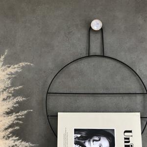 ネコポス送料無料 ウォールフック 真鍮 ゴールド 4cm マーブル 壁飾り 【art of black】 artofblackshop