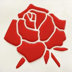 【3Dステッカー】薔薇ステッカー大サイズ〈全5色から〉|artpop-shop