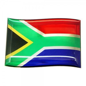 【3Dステッカー】国旗ステッカーフラッグ型〈アフリカ地区 4カ国〉  artpop-shop