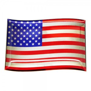 【3Dステッカー】国旗ステッカーフラッグ型〈北米・中南米地区 6カ国〉 artpop-shop