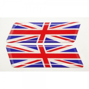 【3Dステッカー】国旗ステッカー ライン型Aタイプ左右セット〈ヨーロッパ地区 11カ国〉 artpop-shop