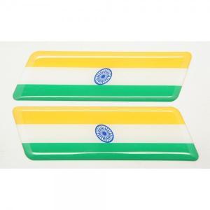 【3Dステッカー】国旗ステッカー ライン型Aタイプ左右セット〈アジア・オセアニア地区 7カ国〉 artpop-shop