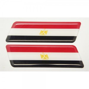 【3Dステッカー】国旗ステッカー ライン型Aタイプ左右セット〈アフリカ地区 4カ国〉 artpop-shop