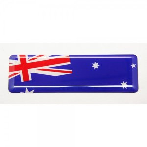 【3Dステッカー】国旗ステッカー ライン型Bタイプ〈アジア・オセアニア地区 7カ国〉 artpop-shop