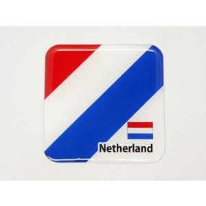 【3Dステッカー】国旗ステッカー 四角型Aタイプ〈ヨーロッパ地区 11カ国〉 artpop-shop