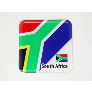 【3Dステッカー】国旗ステッカー 四角型Aタイプ〈アフリカ地区 4カ国〉 artpop-shop