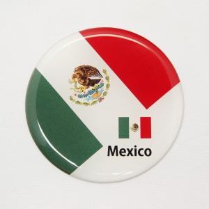 【3Dステッカー】国旗ステッカー 丸型Aタイプ〈北米・中南米地区 6カ国〉 artpop-shop